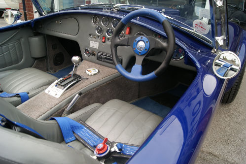 1974 ac cobra interior