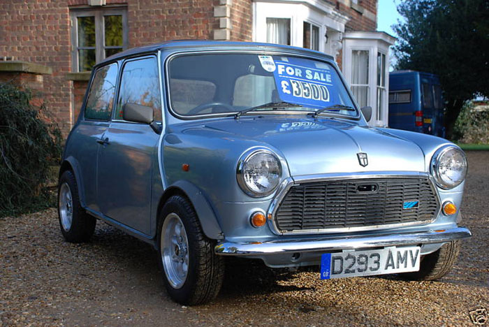 1987 austin mini mayfair 1