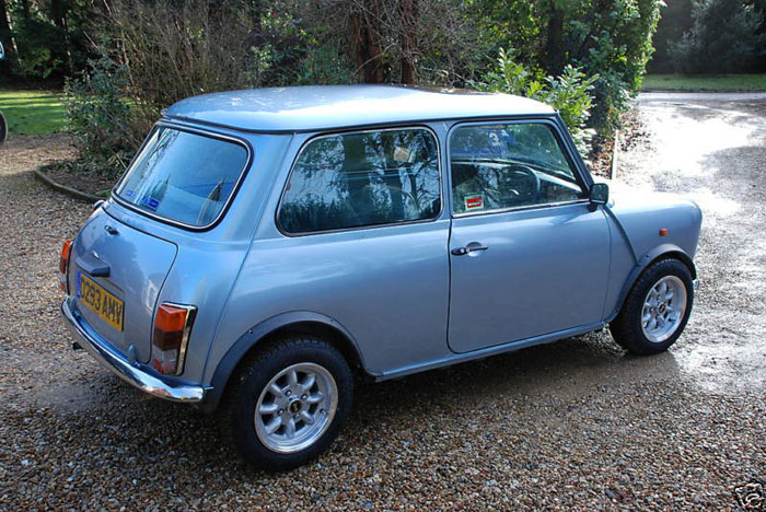 1987 austin mini mayfair 2