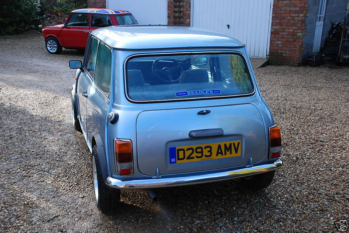 1987 austin mini mayfair 3