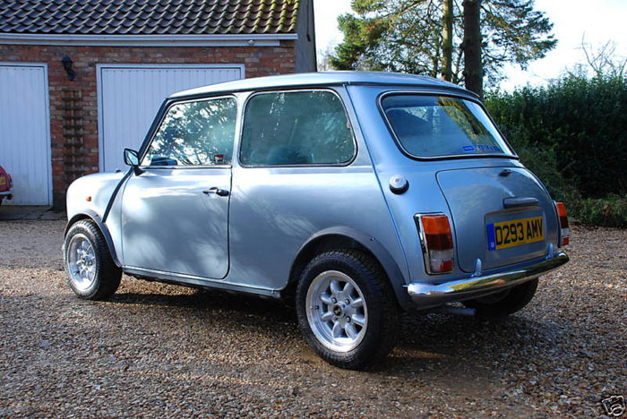 1987 austin mini mayfair 4