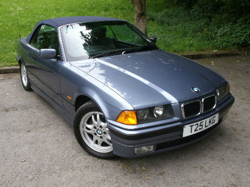 1999 bmw 318 1.8i convertible 1