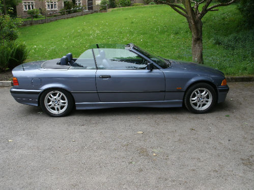 1999 bmw 318 1.8i convertible 2