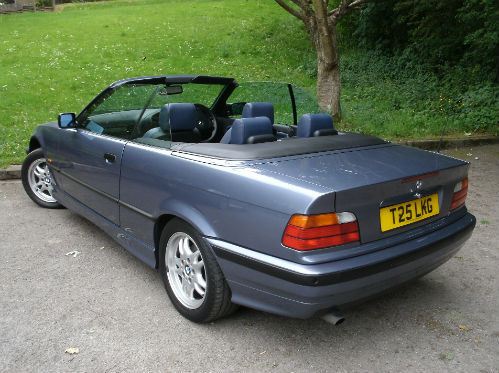 1999 bmw 318 1.8i convertible 4