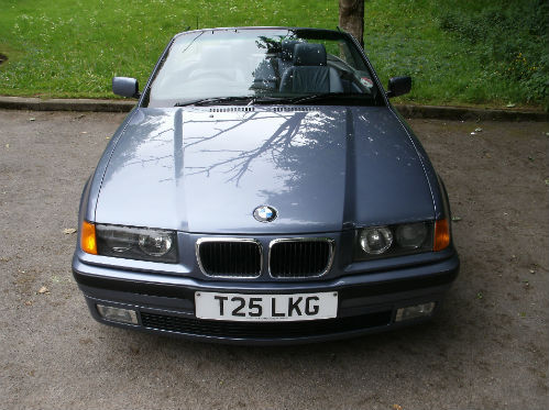 1999 bmw 318 1.8i convertible front