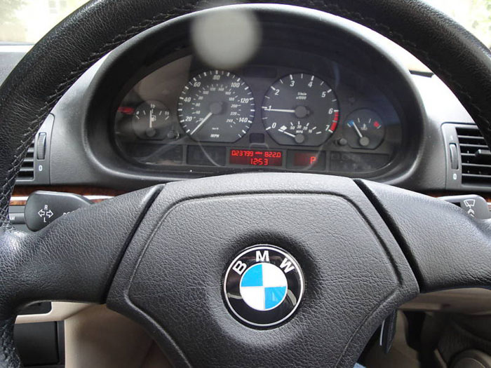 1999 bmw 318 ci auto blue e46 318ci dashboard