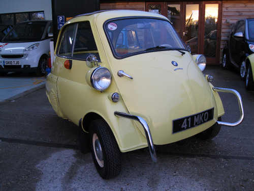 1960 BMW Isetta Bubble Car 1
