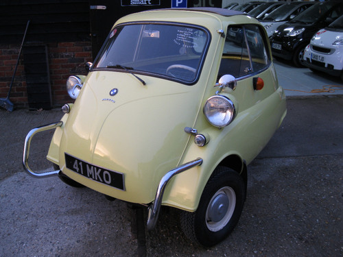 1960 BMW Isetta Bubble Car 2