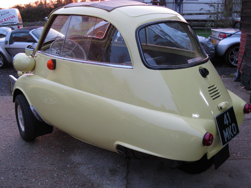 1960 BMW Isetta Bubble Car 3