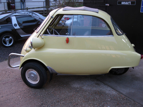 1960 BMW Isetta Bubble Car Left Side