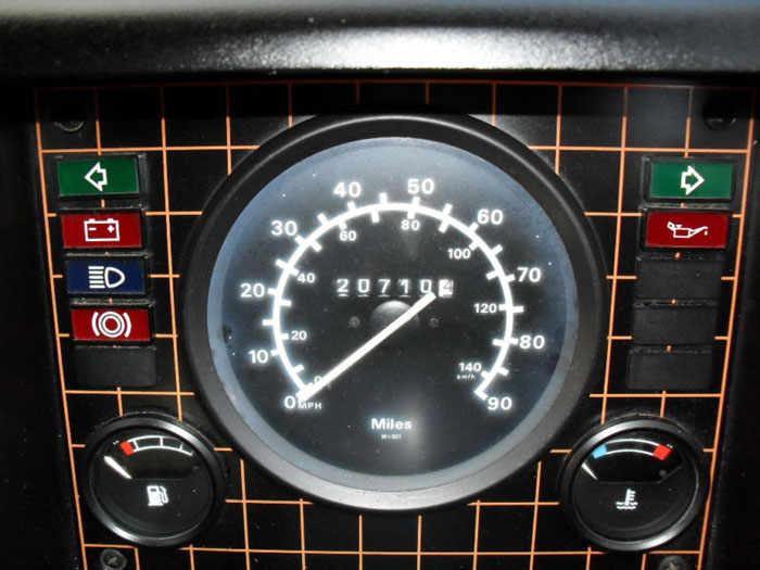 1986 bedford cf2 panel van speedometer