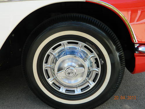 1961 Chevrolet Corvette C1 Wheel