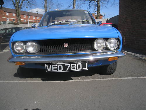 1971 Fiat 124 Front