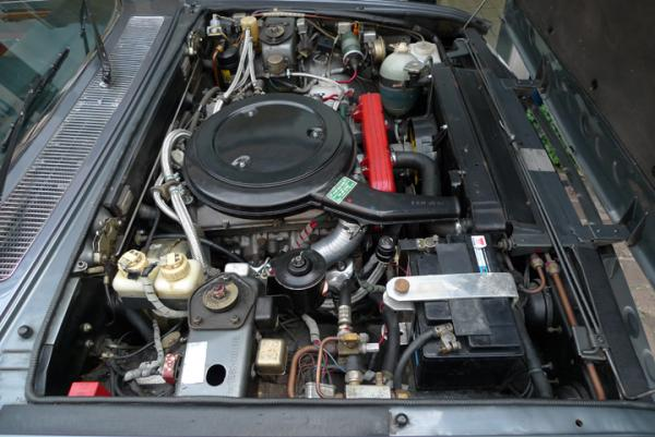1978 Fiat 130 Coupe Engine Bay