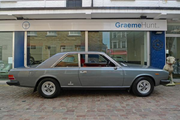 1978 Fiat 130 Coupe Side