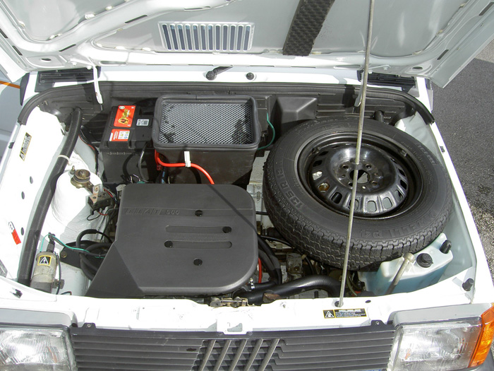 1990 Fiat Panda Dance Engine Bay