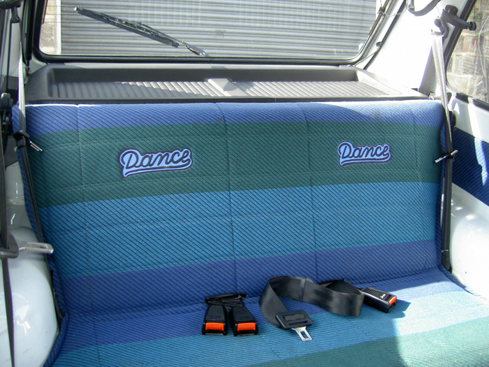 1990 Fiat Panda Dance Rear Seats