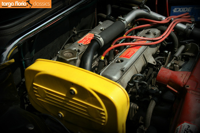 1987 Fiat Strada Ritmo Abarth 130TC Engine 1