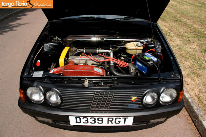 1987 Fiat Strada Ritmo Abarth 130TC Engine Bay