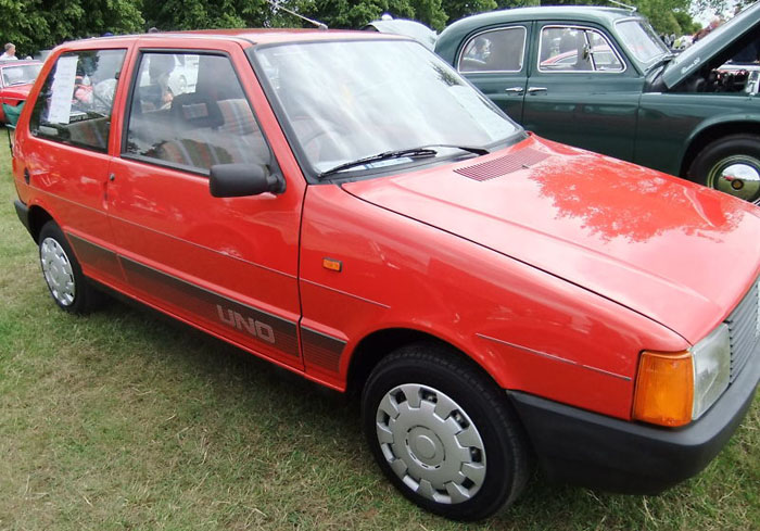 1991 fiat uno 45 fire red 999cc 1