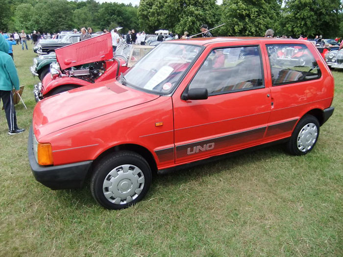 1991 fiat uno 45 fire red 999cc 2