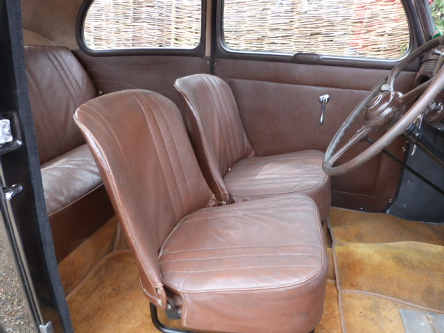 1953 Ford Anglia Front Interior
