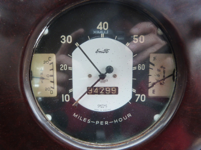 1953 Ford Anglia Speedometer