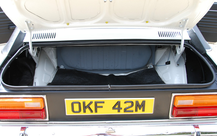 1974 Ford Capri MK1 1600 XL Boot