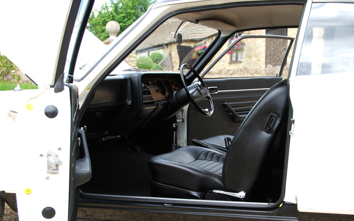 1974 Ford Capri MK1 1600 XL Interior 1