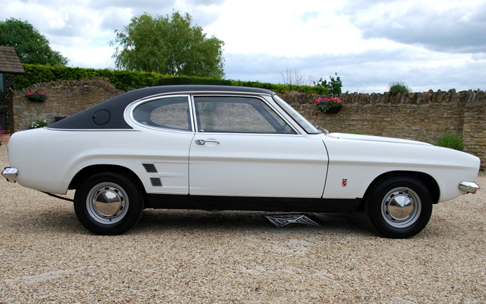 1974 Ford Capri MK1 1600 XL Right Side
