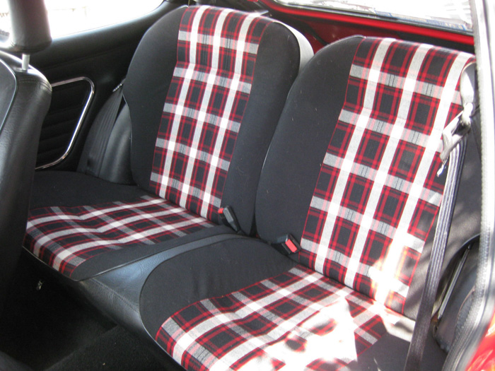 1981 Ford Capri MK3 2.0 S Rear Seats