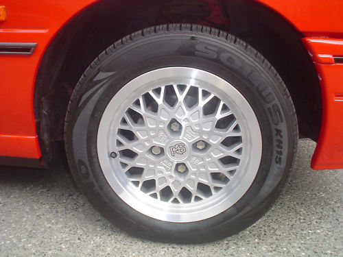 1991 ford escort cabriolet wheel