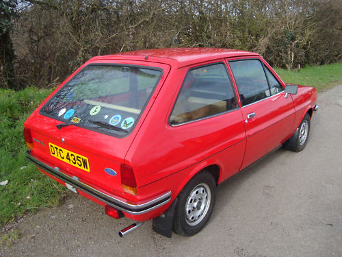 1980 ford fiesta l mark 1 4