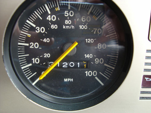 1980 ford fiesta l mark 1 speedometer