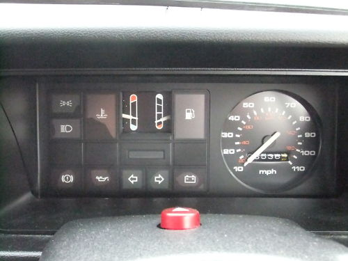 1987 ford fiesta 1.1l dashboard