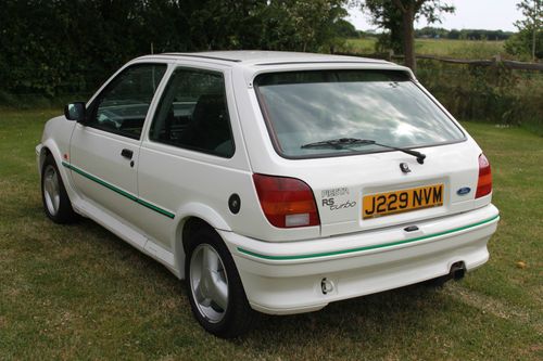 1991 Ford Fiesta MK3 RS Turbo 2