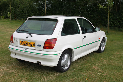 1991 Ford Fiesta MK3 RS Turbo 3