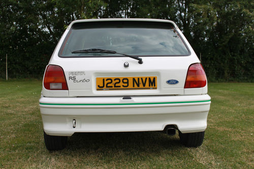 1991 Ford Fiesta MK3 RS Turbo Back