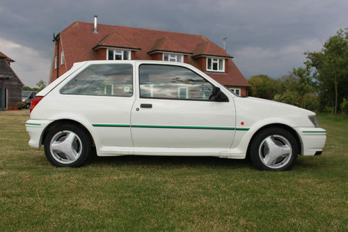 1991 Ford Fiesta MK3 RS Turbo Right Side