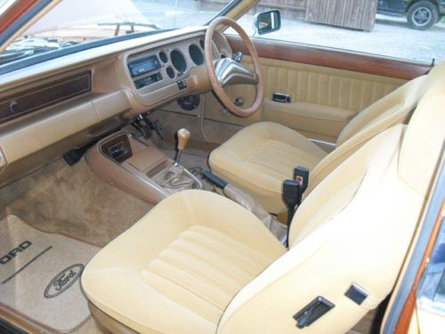 1975 ford granada ghia coupe interior
