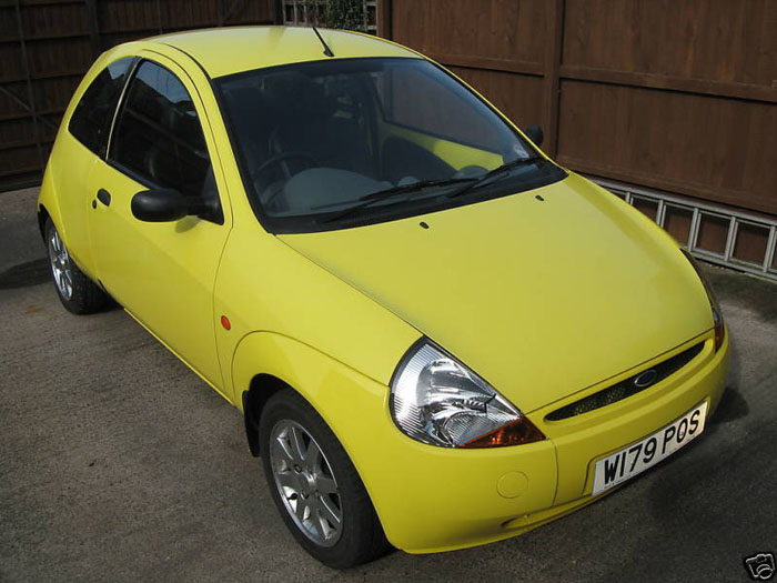 featured cars ford ka 2000 ford ka millenium yellow ref 8. Black Bedroom Furniture Sets. Home Design Ideas