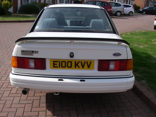 1988 ford sierra rs cosworth back