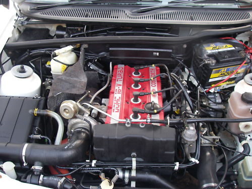 1988 ford sierra rs cosworth engine bay