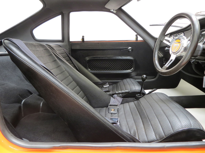 1971 Ginetta G15 Sports Coupe Front Interior 1