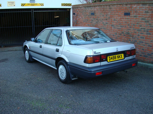 1986 Honda Accord 4AD II 2.0 4