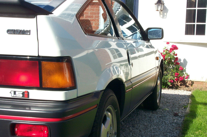 1985 Honda CRX MK1 Right Side