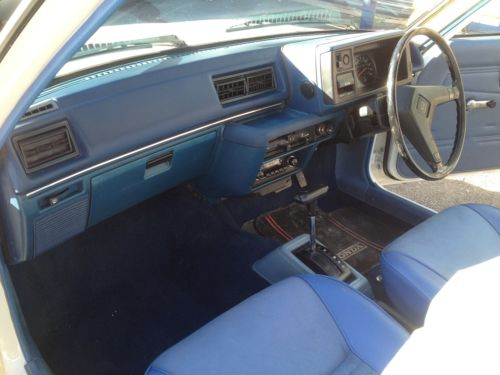 1981 Honda Civic MK2 3A Front Interior