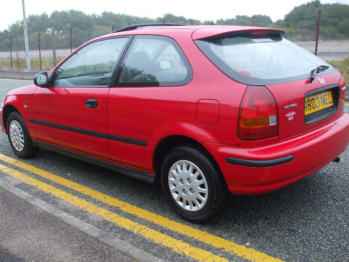 1998 r honda civic 1.4 automatic 4