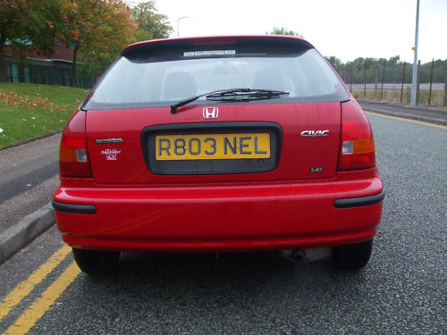 1998 r honda civic 1.4 automatic 5