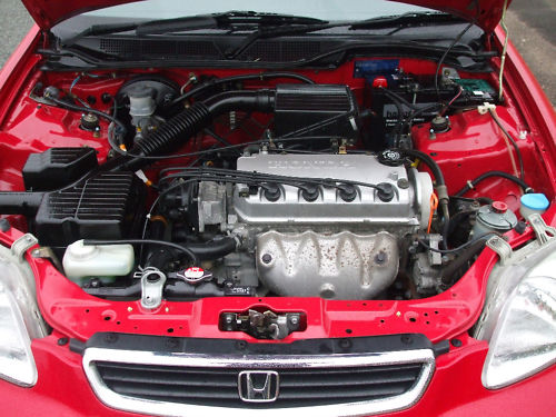 1998 r honda civic 1.4 automatic engine bay